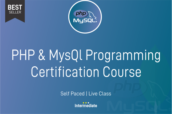 PHP & MysQL Programming Certification Course cover