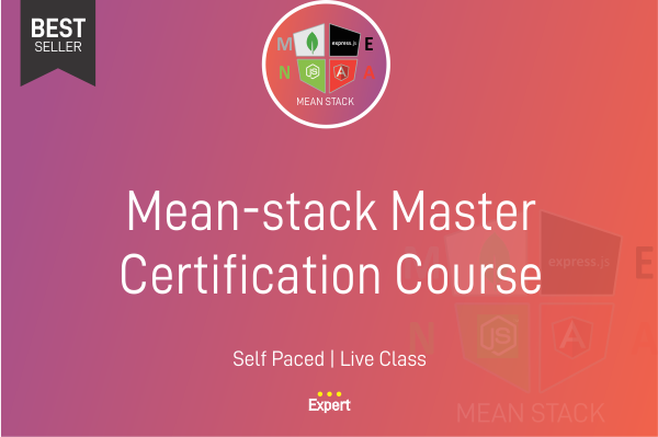 Mean-Stack Master Certification Course cover