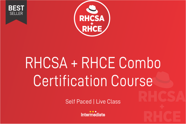 RHCSA + RHCE Redhat Combo cover