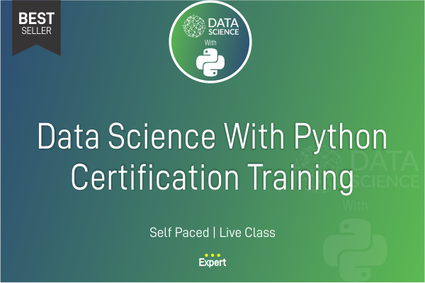 Data Science with Python Certification Course cover